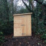 Equipment shed for our bees